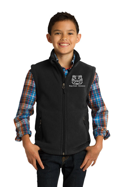 Youth full zip vest