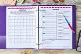 45% OFF! Healthy Living Planner Printables {122 Pages}