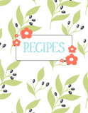 Printable Recipe Binder {46 Pages x 3 Designs}