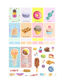 Sweets Printable Stickers