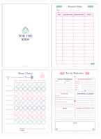 Deluxe Life Planner Printables(Black and White + Color) {76 Pages}