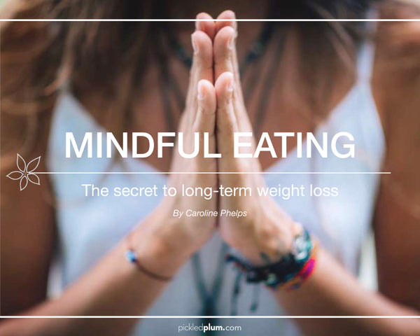 The Mindful Eating Guide {34 Pages + 9 Worksheets}