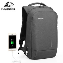 Load image into Gallery viewer, Anti Theft Backpack with USB Charging Port-Fox Cools