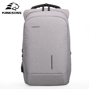 Anti Theft Backpack with USB Charging Port-Fox Cools