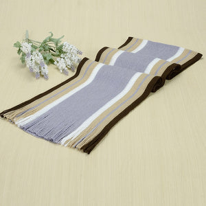 Winter Stripped Men Scarf-Fox Cools