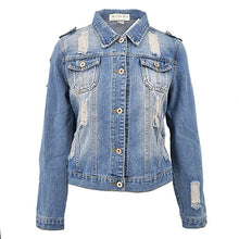 Load image into Gallery viewer, 2018 Oversize Ladies Denim Jacket-Fox Cools