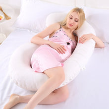 Load image into Gallery viewer, C-Shaped Pregnancy Pillow-Fox Cools