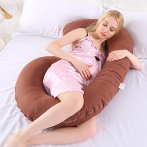 C-Shaped Pregnancy Pillow-Fox Cools