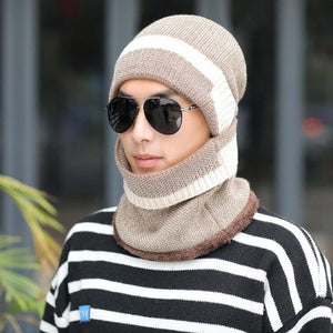 Unisex Winter Scarf and Beanie-Fox Cools