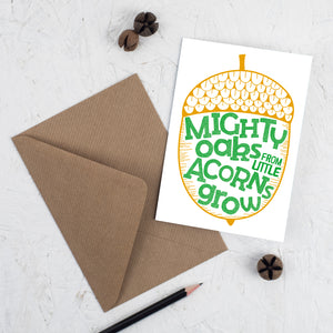 Greeting Cards - Mighty Oaks