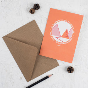 Greeting Cards - Dirt Paths