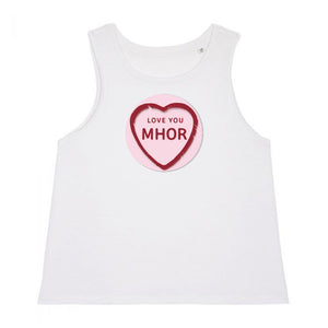Love You Mhor - Cropped Tank Top