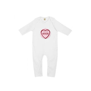 Love You Mhor - Baby Jumpsuit