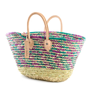 Natural Colour Straw Basket