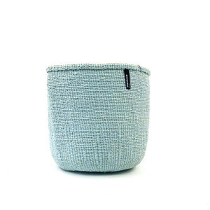 Light Blue Mifuko Basket - Medium