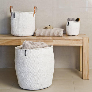 White Mifuko Basket - Large