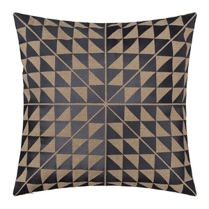 Geotile Cushion Cover - Slate