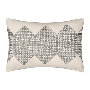Geotile Cushion Cover - Ash Grey