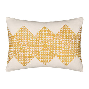 Geotile Cushion Cover - Chartreuse