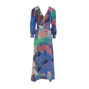 Time Traveller's Wife Maxi Robe - front