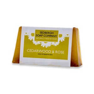 Soap Bar - Cedarwood & Rose