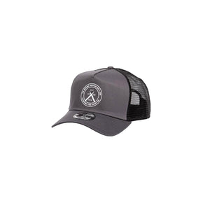 Leather Man Trucker Cap