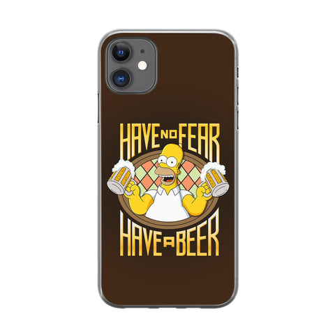Handyhülle mit dem Design Have no Fear Have a Beer Iphone 11 Silikon jetzt kaufen bei Finoo GmbH & Co. KG