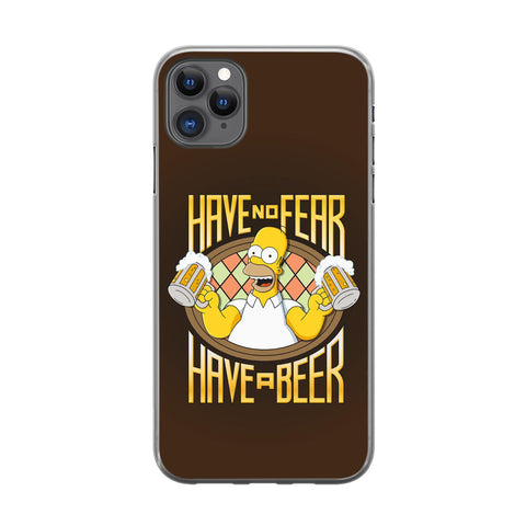 Handyhülle mit dem Design Have no Fear Have a Beer Iphone 11 Pro Max Silikon jetzt kaufen bei Finoo GmbH & Co. KG