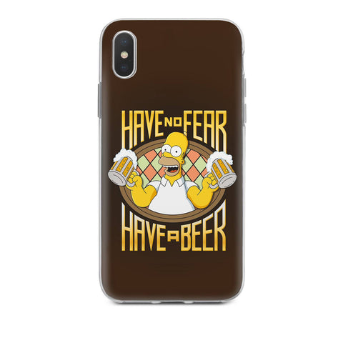 Handyhülle mit dem Design Have no fear Have a beer Iphone XS Max Silikon jetzt kaufen bei Finoo GmbH & Co. KG
