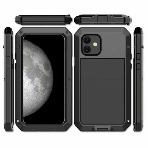 Waterproof Case Iphone 11 Schwarz
