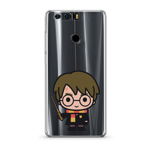 Handyhülle mit dem Design Harry Potter Chibi Stab Transparent Huawei Honor 8 Silikon jetzt kaufen bei Finoo GmbH & Co. KG