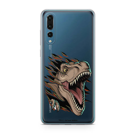 Handyhülle mit dem Design Angry T-Rex Huawei P20 Pro Silikon jetzt kaufen bei Finoo GmbH & Co. KG
