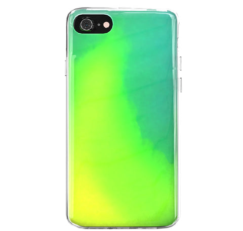Glow in the Dark mit dem Design Glow in the Dark Iphone 6 Plus / 6S Plus  Grün/Gelb jetzt kaufen bei Finoo GmbH & Co. KG
