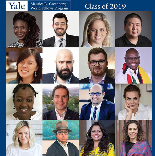 Rebecca Chosen as a 2019 Yale World Fellow