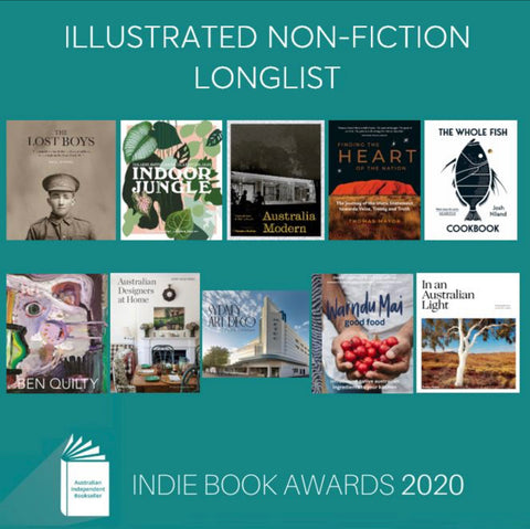 Warndu Mai selected in Independent Booksellers Book awards indi