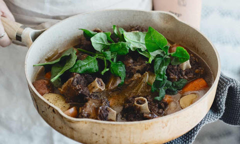 Wallaby Shanks Recipe | Warndu Australian Bush Tucker © Warndu Pty Ltd. Photographs by Luisa Brimble.