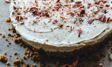 Load image into Gallery viewer, Warndu Mai's finger lime and lemon myrtle cheesecake