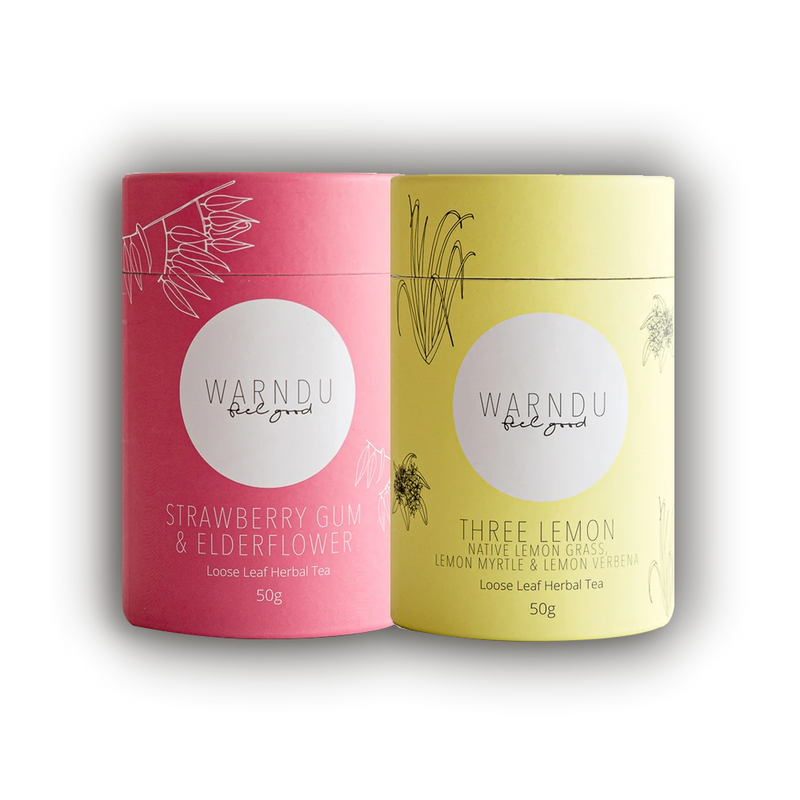 Warndu Australian Native, Warndu Favourite Tea Twin Pack.