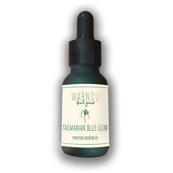 Warndu Australian Native, 100% Pure Tasmanian Blue Gum Essential Oil.