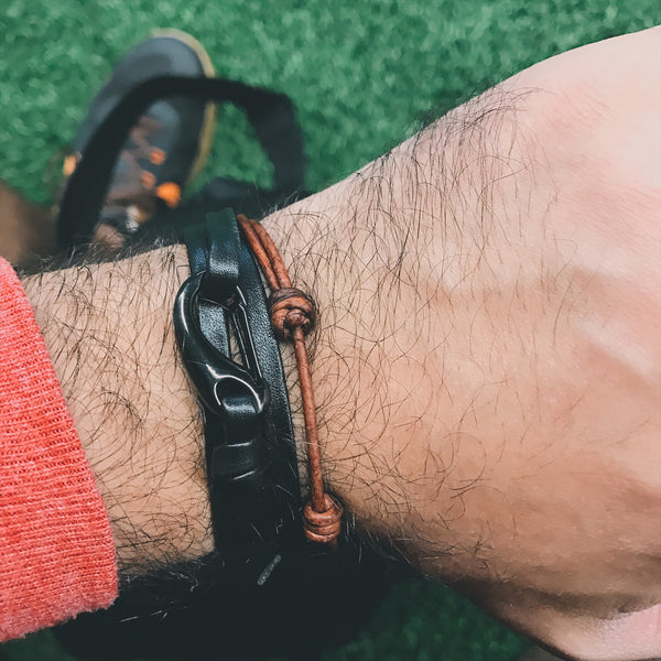 New colors for Men's Leather Bracelets coming soon!