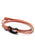 Orange Tactical Cord Bracelet for Men (Black Clasp - 28K)