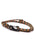 Camo Tactical Cord Bracelet for Men (Black Clasp - 011K)
