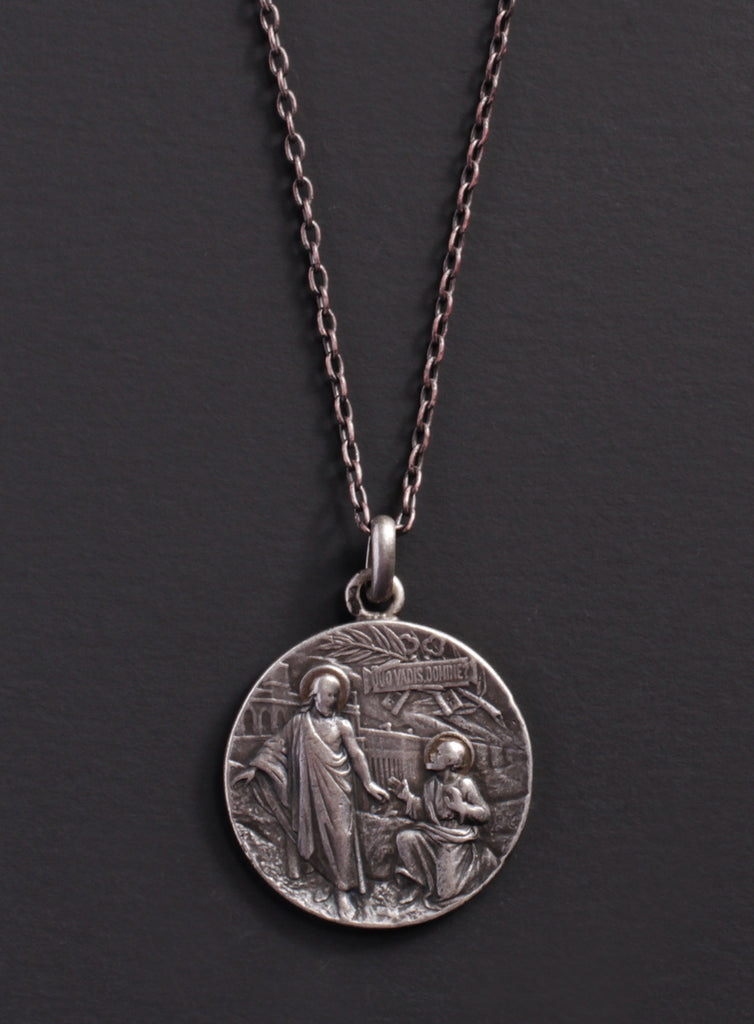 Jesus and Saint Peter pendant