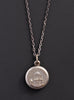 Mens silver locket