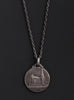 French Medal Necklace for Men