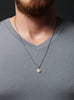 Silver Necklace Chain for Man