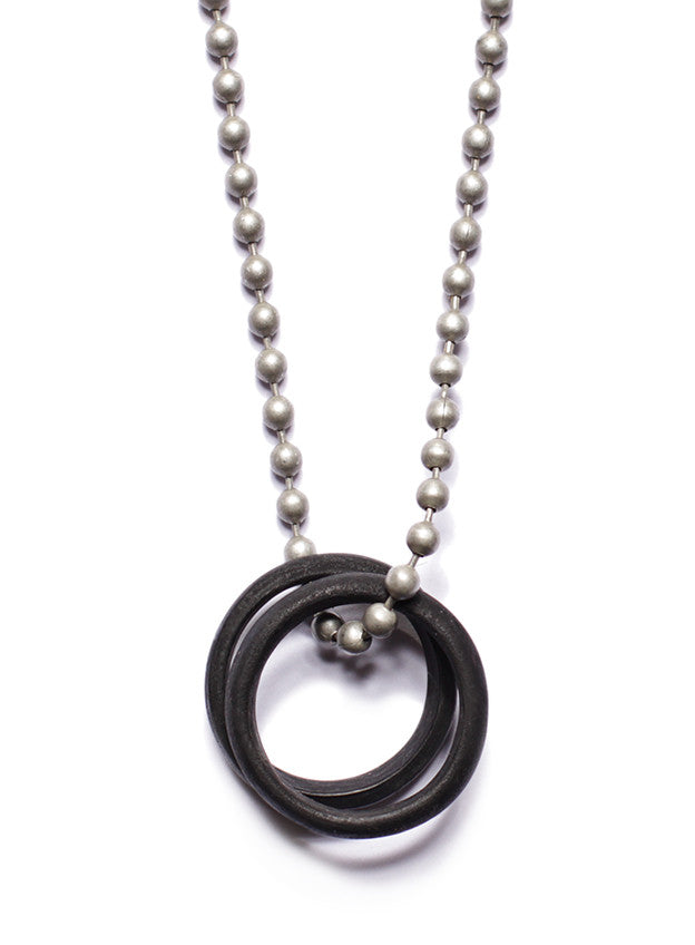 men two rings necklace smith all we s glass are tworingsblack black for ring products
