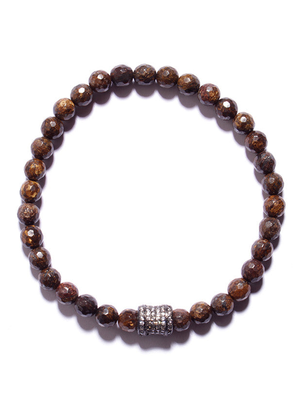 Bronzite Bead Bracelet (SOLD OUT)
