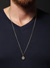 Number 15 pendant Men's Necklace