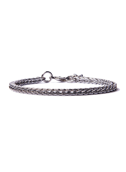 """Column"" Silver Chain Bracelet for Men"